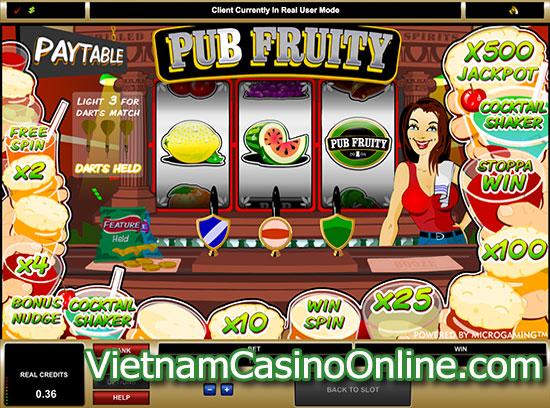 Pub Fruity Slot